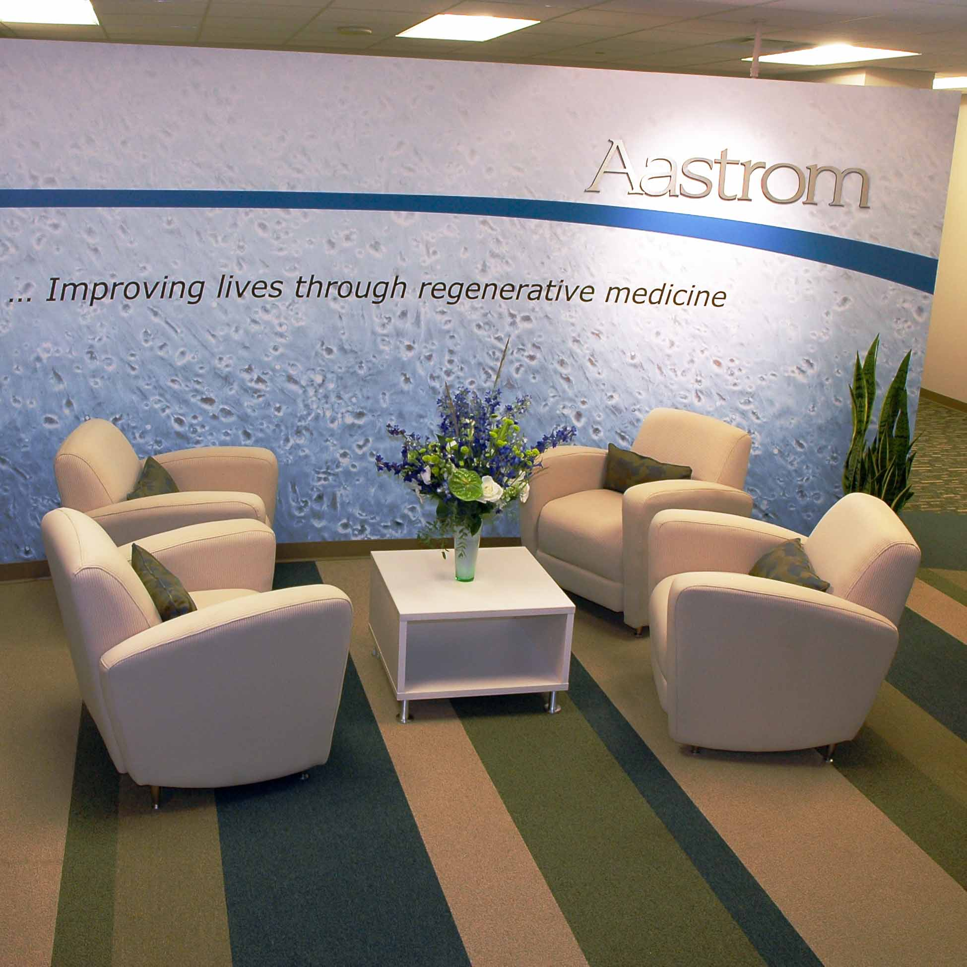 Entry Design for Aastrom Biosciences Headquarters