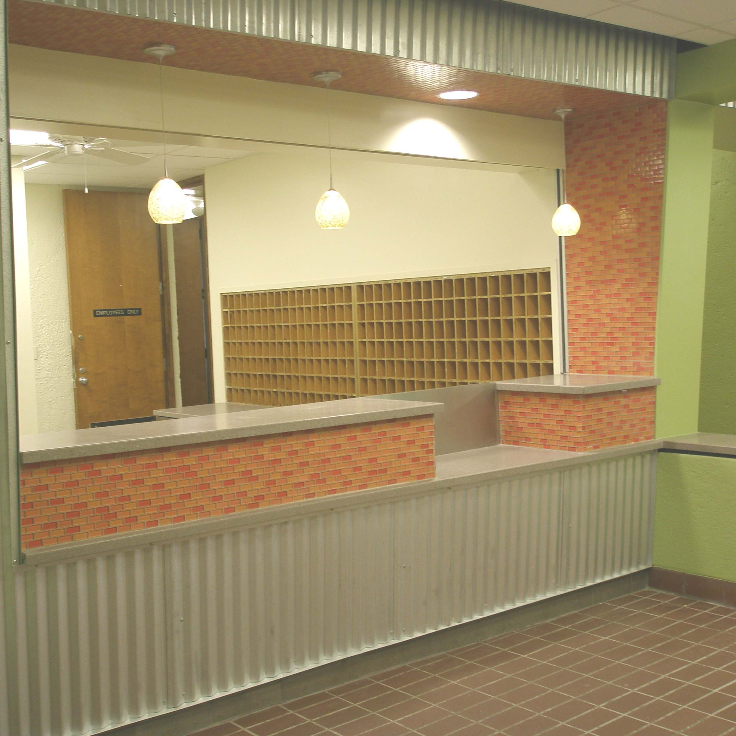 Eastern Michigan University Dorm Front Desk Design