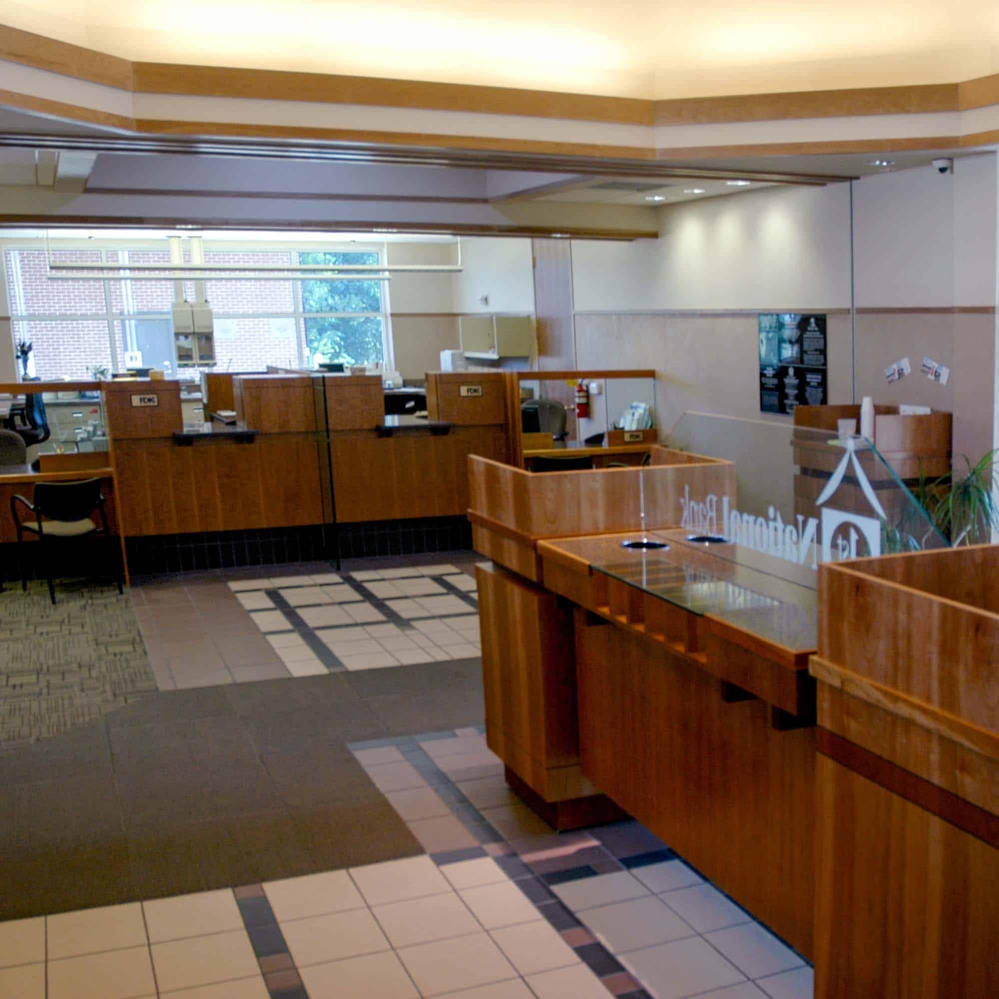 Sustainable Bank Interior