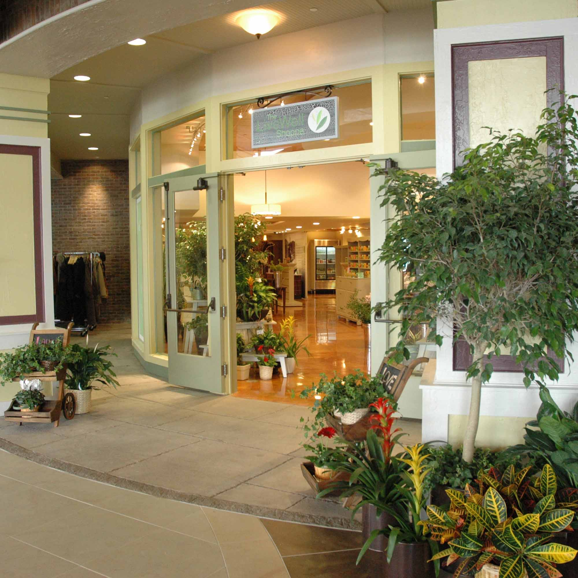 Retail Store Entrance with Main Street Appeal