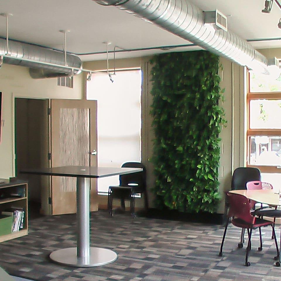 Green Wall in Ann Arbor Office