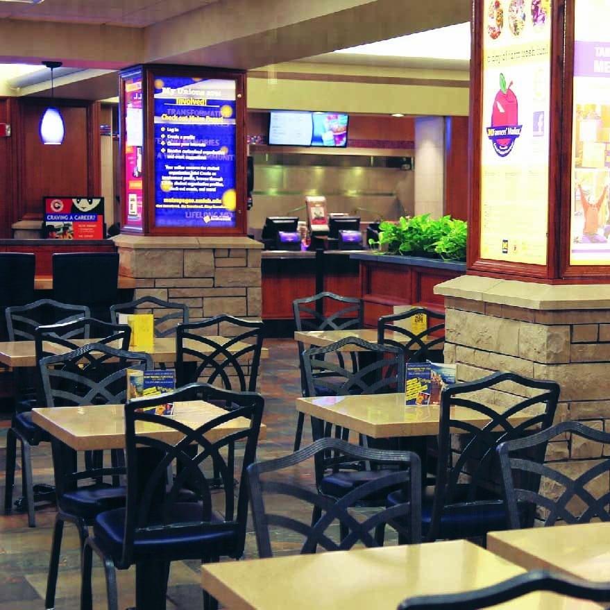 University Dining Area
