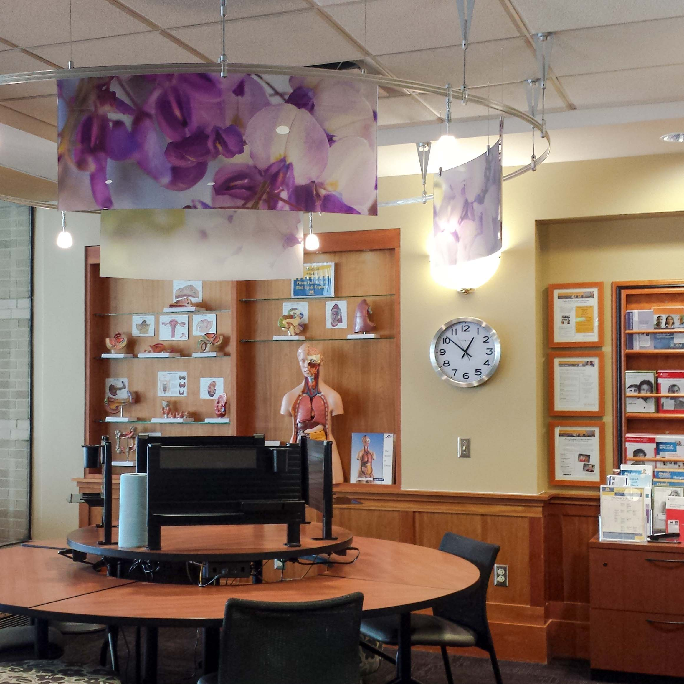 Cancer Center Patient Area