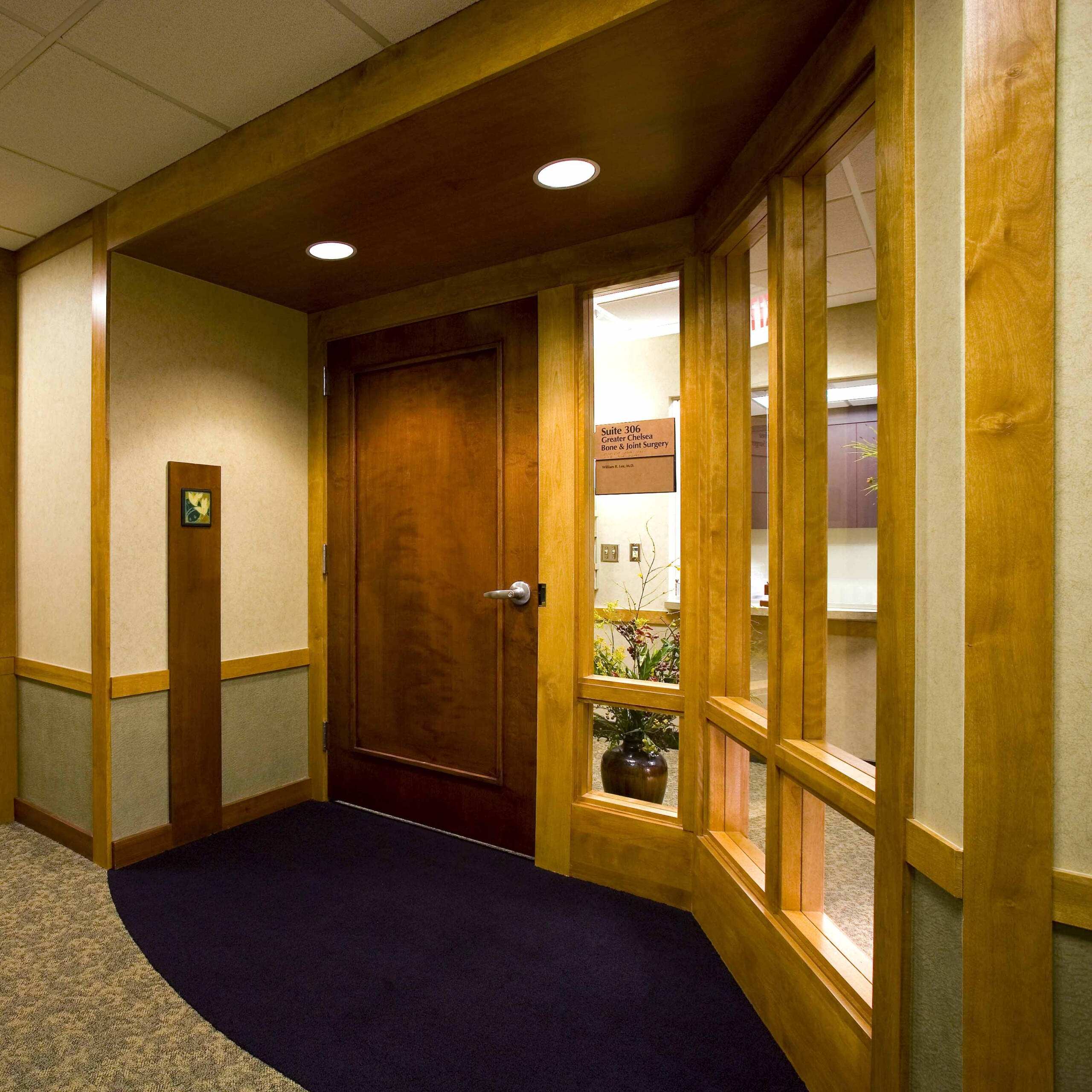 Hospital Suite Entry