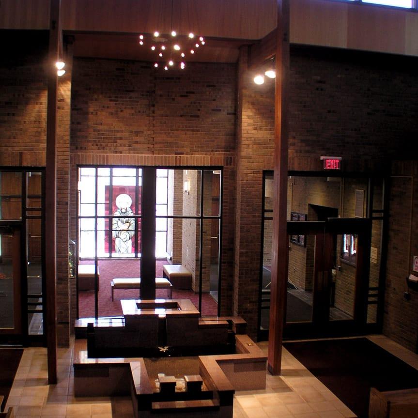 Church Unique Interior