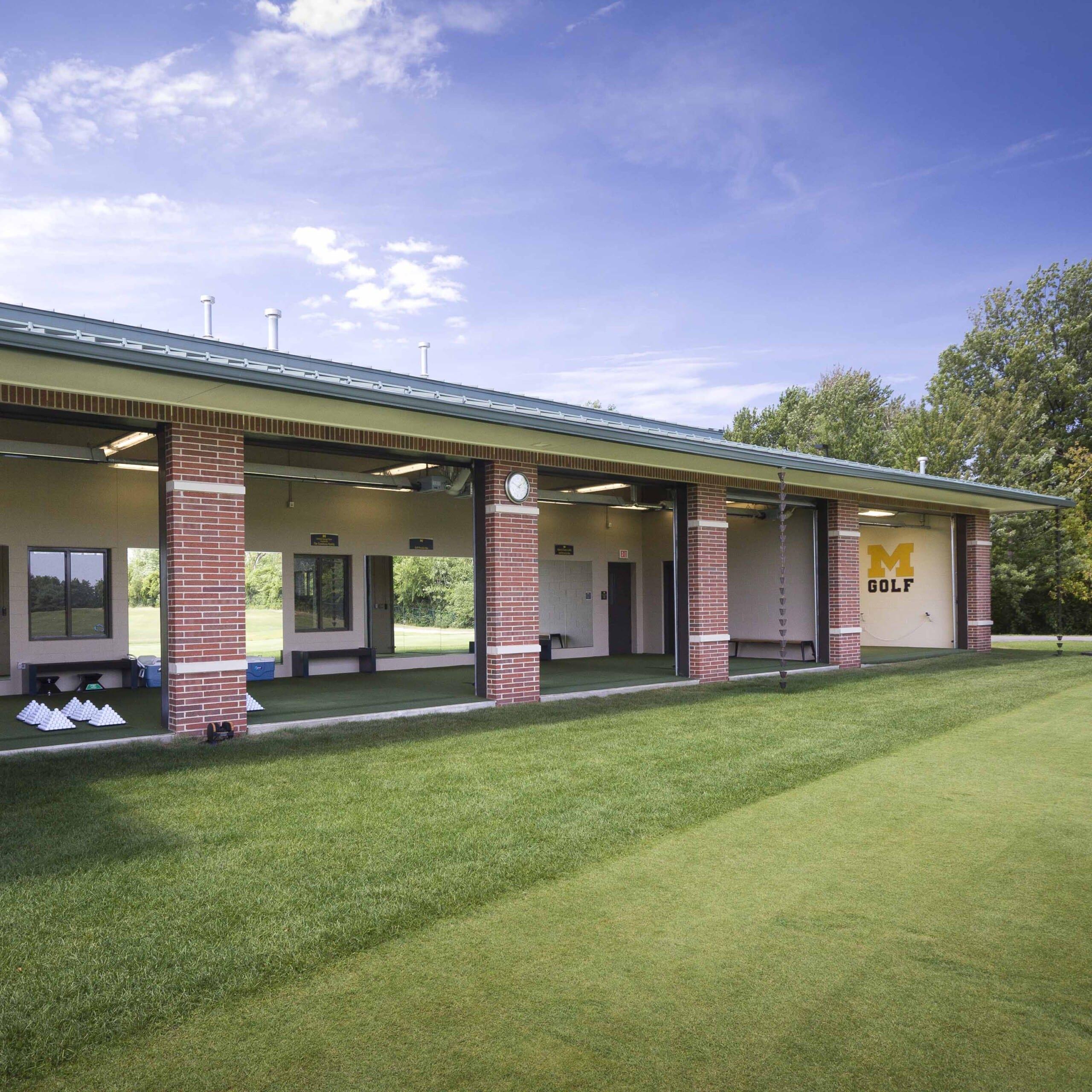 Golf Athletics New Building
