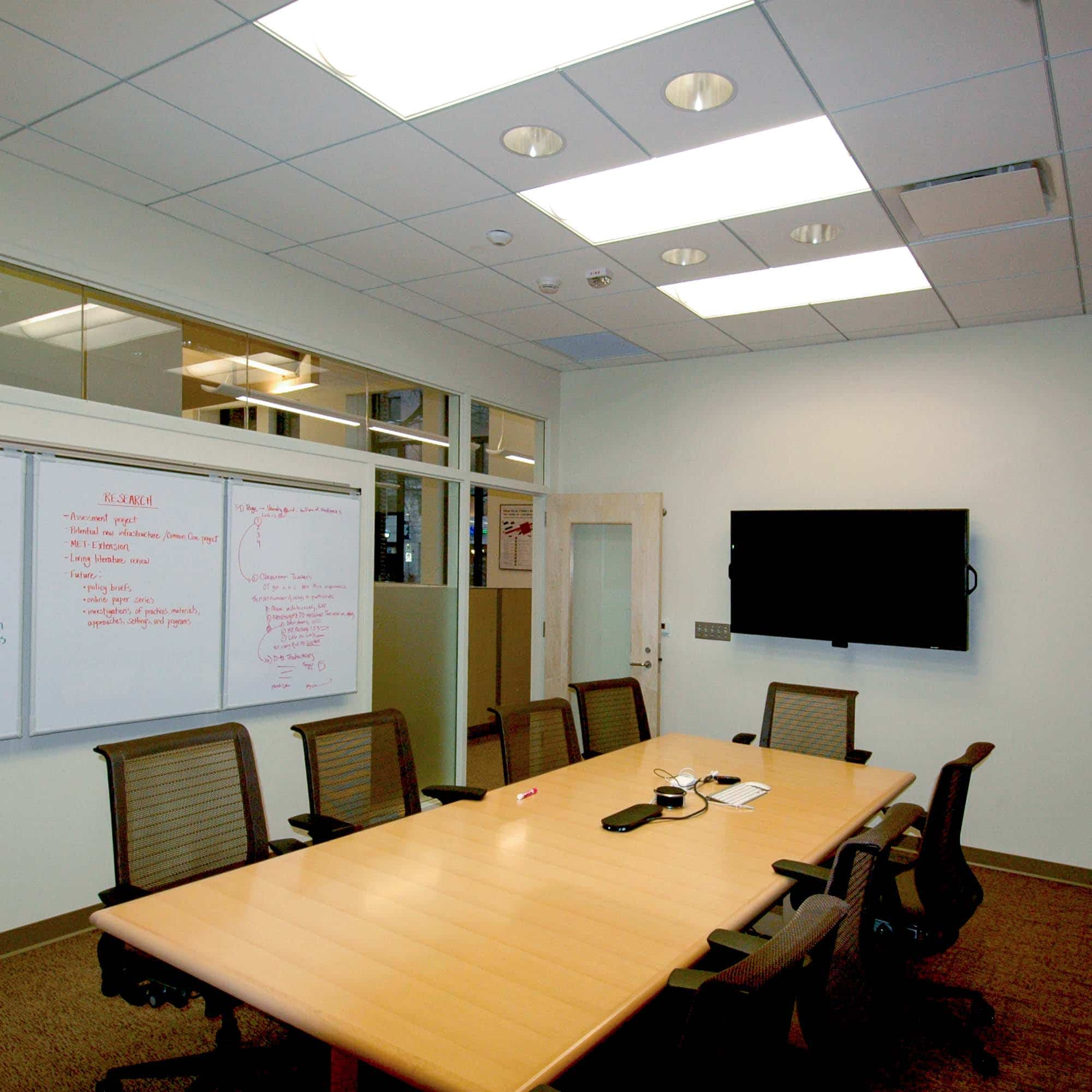 Lobby Interior Design Breakroom Conference Room