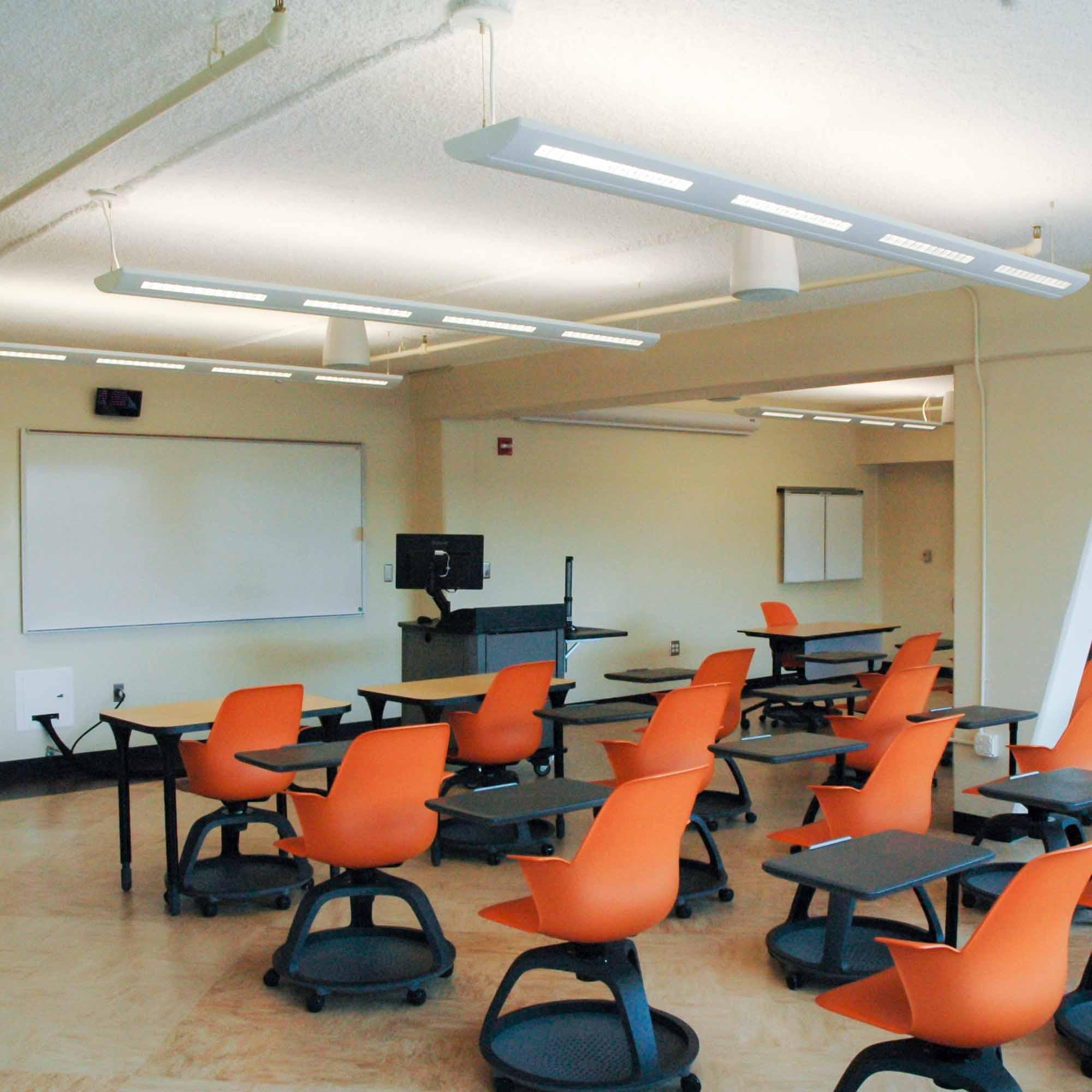 University Classroom Interior